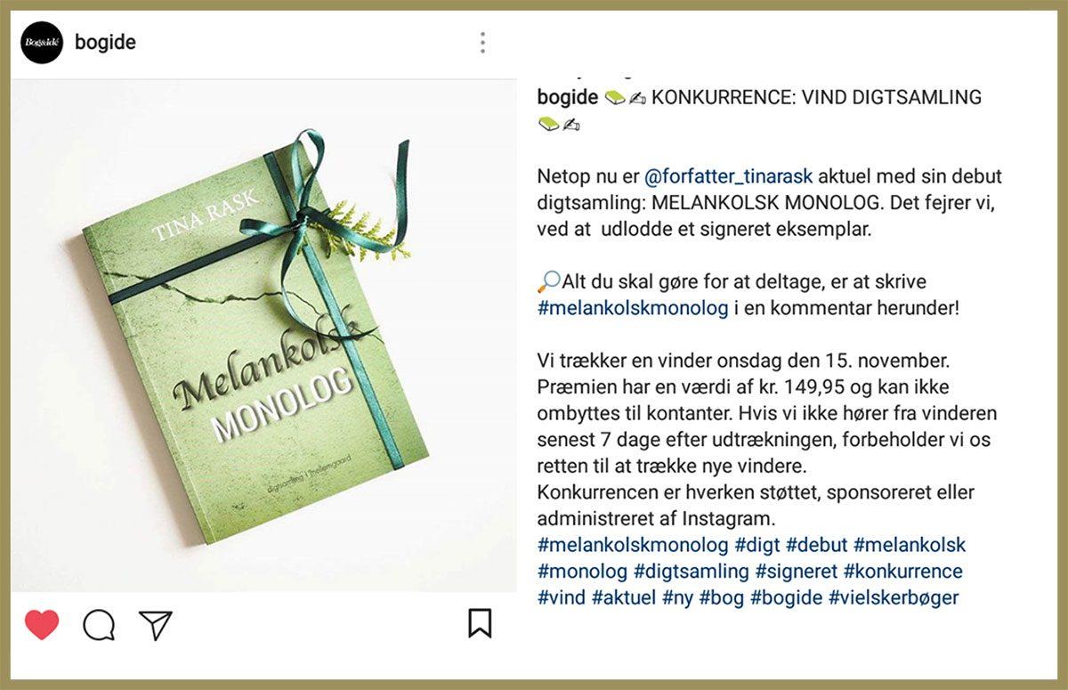 Vind Melankolsk monolog - Bog & Idé